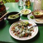 Nopal (Cactus) Salad in Cancun