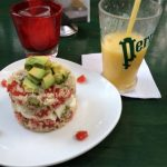 Tabouli Salad with Avocado in Tulum
