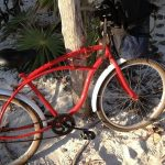 My bicycle in Tulum