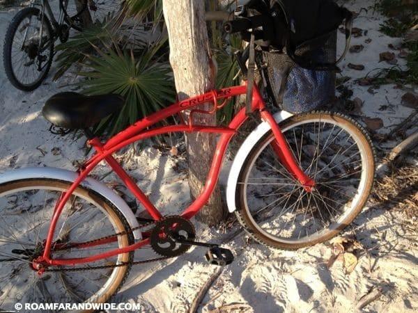 I Bike Tulum My bicycle in Tulum
