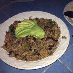 Cuban Rice in Akumal
