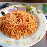 Spaghetti on Holbox Island