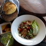 Portobella Mushroom Salad on Holbox Island