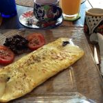 Omelet with cheese - Holbox Island