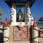 Shrine on Holbox Island