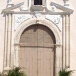 Church door, Merida, Mexico