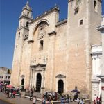 Merida Cathedral. Built in 1561.