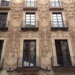 Facade of a building in Barcelona