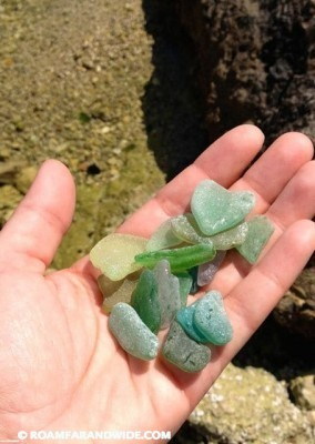 Sea glass. And lots of it.