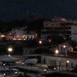 Cala Ratjada, Mallorca at night.