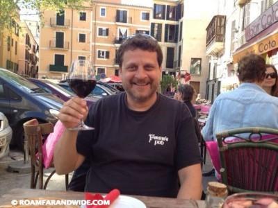 Jamie in Mallorca