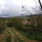 Leaving Tosantos Church