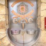 Wine fountain in Irache, Spain