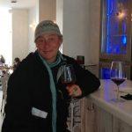 Enjoying some vino!