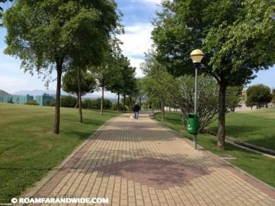 Park outside Logrono