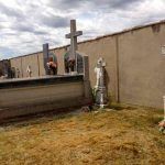 Cemetery in Moratinos