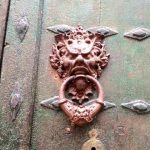 Cool doorknocker in Zirauki