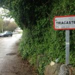 Entering Triacastela