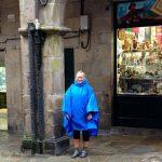Rainy in Santiago de Compostela