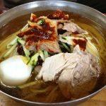 Cold noodle soup