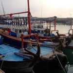 Jeju Island fishing boat