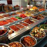 Prepared foods at Dongmun Market