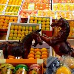 Fruit and knick-knack display