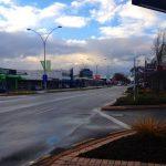 Main street in Rotorua