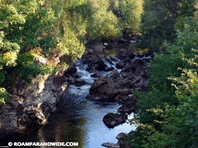 River Dee in Braemar, Scotland