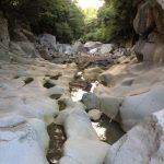 Jeju Island riverbed.