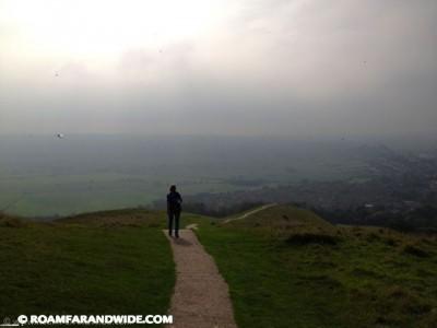 Good walk in Glastonbury, England