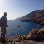Hans above Choro Sfakia, Crete