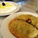 Best Spinach pie ever from Taverna Paralia