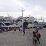 The ferry in Agia Roumeli, Crete