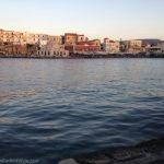 Harbor in Chania, Crete, Greece