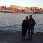 Laura and Hans, Crete, Greece