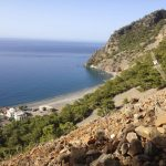 Hike to the castle. Agia Roumeli.