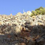 Castle above Agia Roumeli.