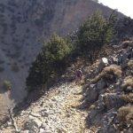 Walking to the old village of Agia Roumeli