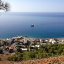 Crete, Greece: Beautiful Agia Roumeli with Hans
