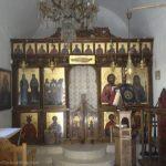 Matala's tiny chapel.