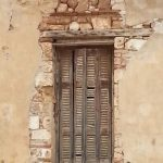Old window in Chania, Crete