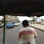 The riverfront in Phnom Penh.