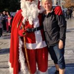 I ran into Santa in Athens!