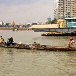 Branch where Tonie Sap meets the Mekong River
