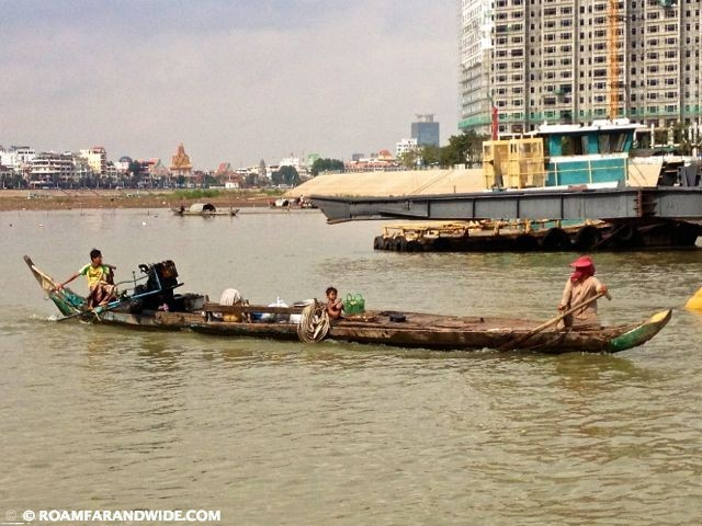 Branch where Tonie Sap meets the Mekong River