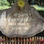 Mass grave at the Killing Fields