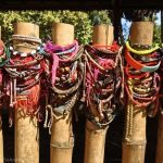 Bracelets left at grave sites. Killing Fields.