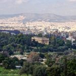 I think it's the Temple of Hephaestus.