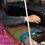 Silk Weaver in Koh Dach, Cambodia